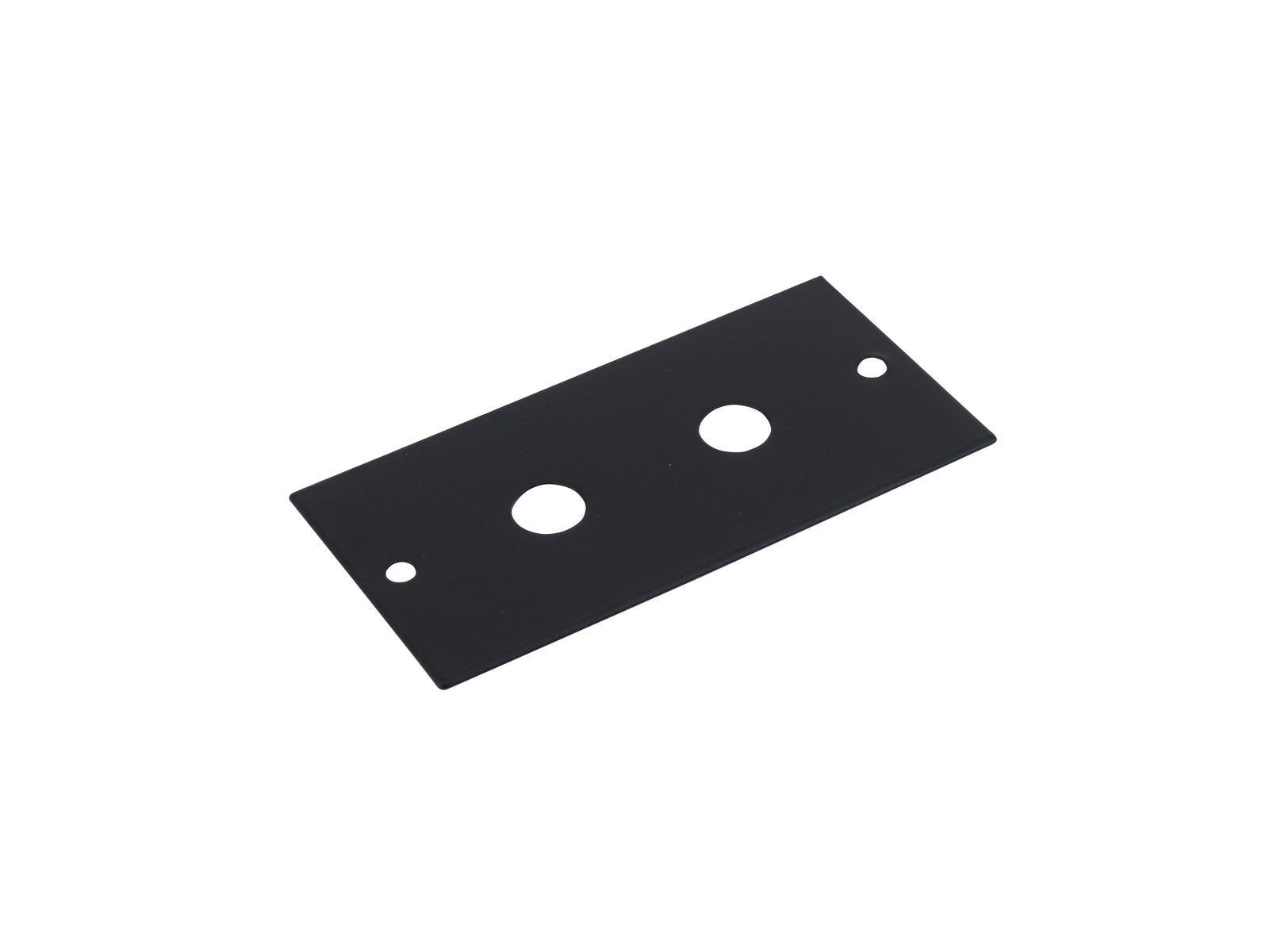 OMNITRONIC Modul 2HE 2x Klinkenstecker 44x88mm