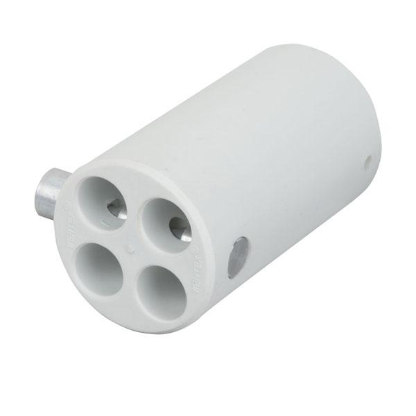 Wentex 4-way Connector Replacement Ø45.7 mm 45,7mm (Durchm.), Weiß