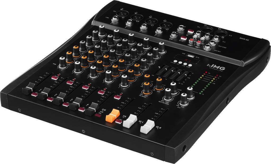 6-Kanal Audio Mischpult