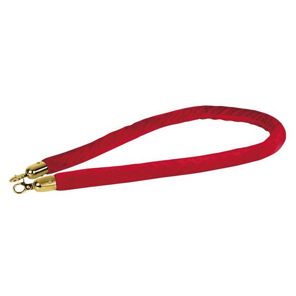 Showgear Velvet Rope Gold Hook Rot