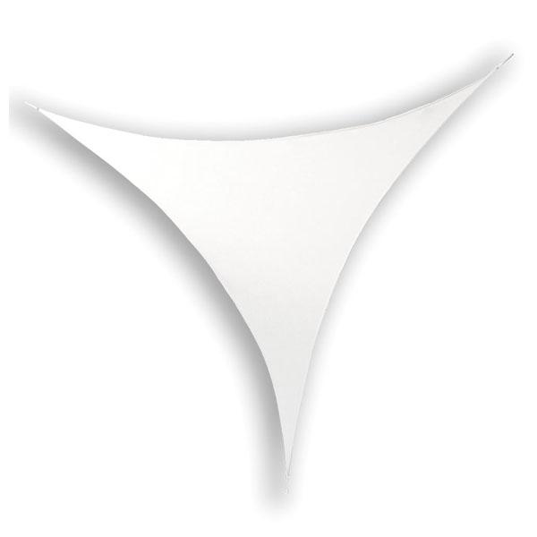 Wentex Stretch Shape Triangle White 500cm x 250cm, Weiß