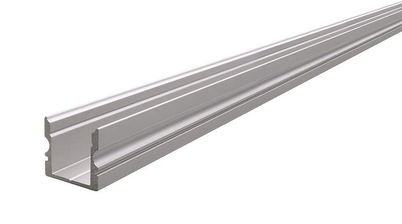 Profil AU-02-10 hoch 4m silber matt eloxiert