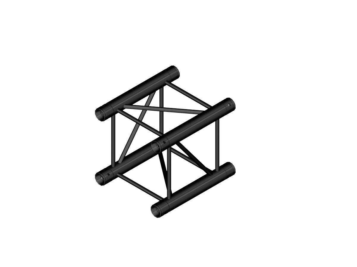 ALUTRUSS DECOLOCK DQ4-S200 4-Punkt-Traverse sw