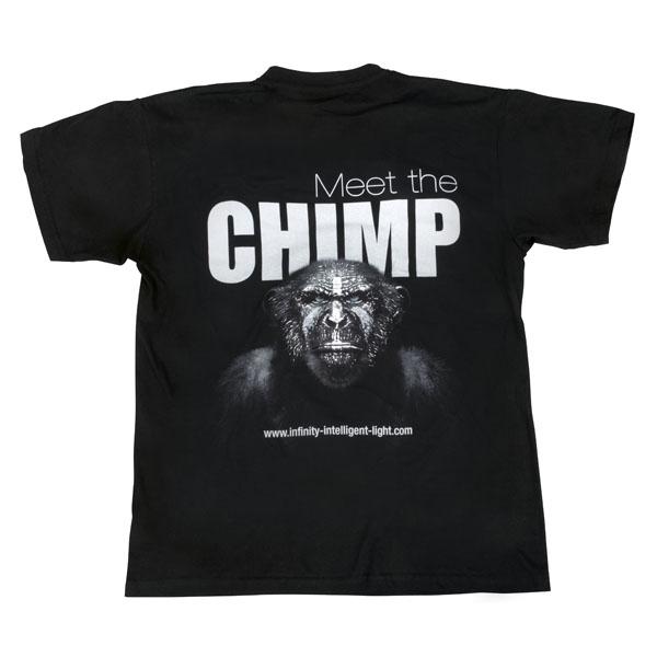Infinity Chimp T-shirt - Back XXL