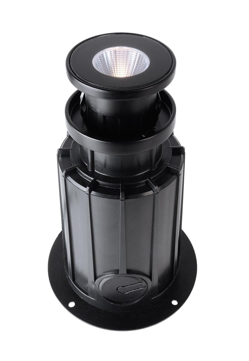 LED Bodeneinbauleuchte Rund RGB 5W 230V IP67