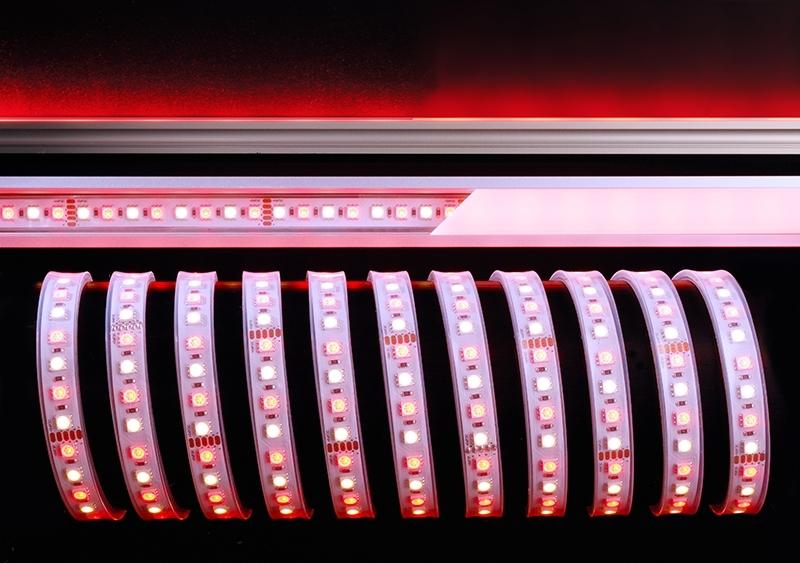 LED Stripe 5050-96-24V-RGB+2800K-5m-IP67