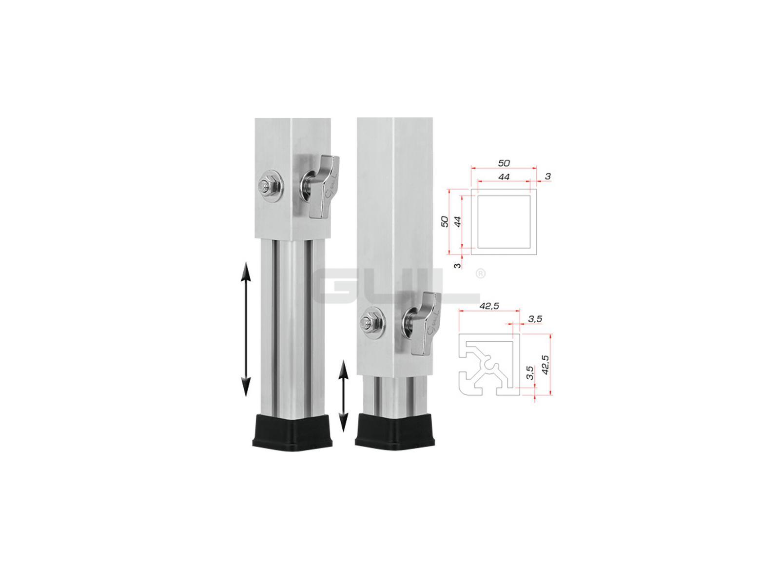 GUIL PTA-440/60-100 Teleskopfuß