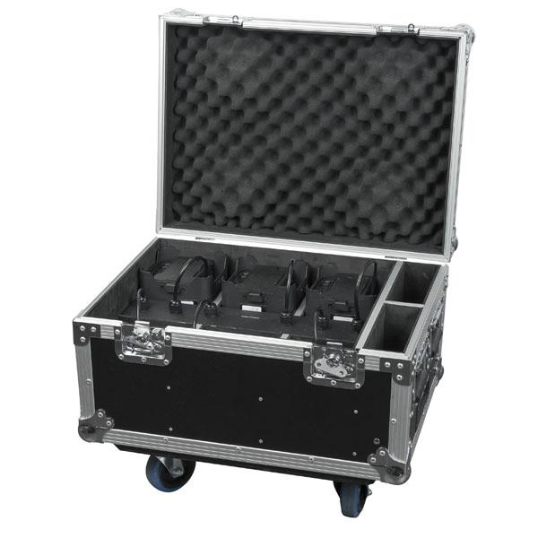 Showtec EventLITE 4/10 Q4 Set Flightcase mit 6 EventLITE