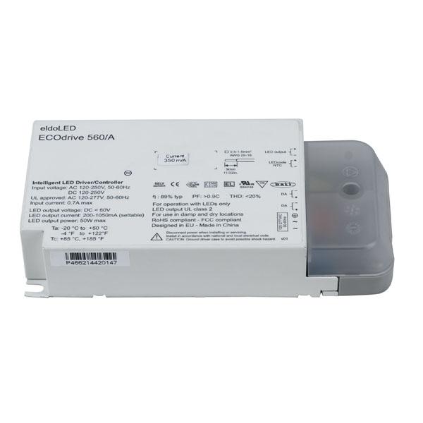Eldoled ECOdrive AC 50 W Constant Current eldoLED ECO560A DALI 1 Ausgang