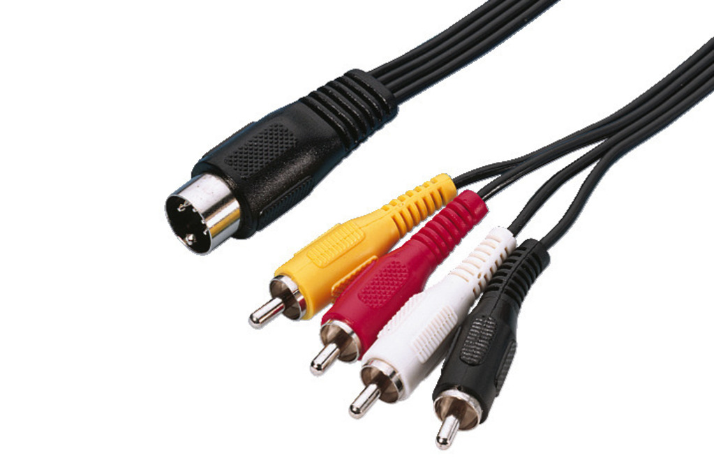 Stereo-Adapter-Kabel, 1,2m