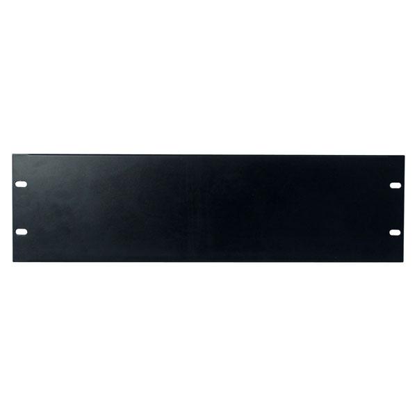 Showgear 19 inch Blind Panel Black 3HE