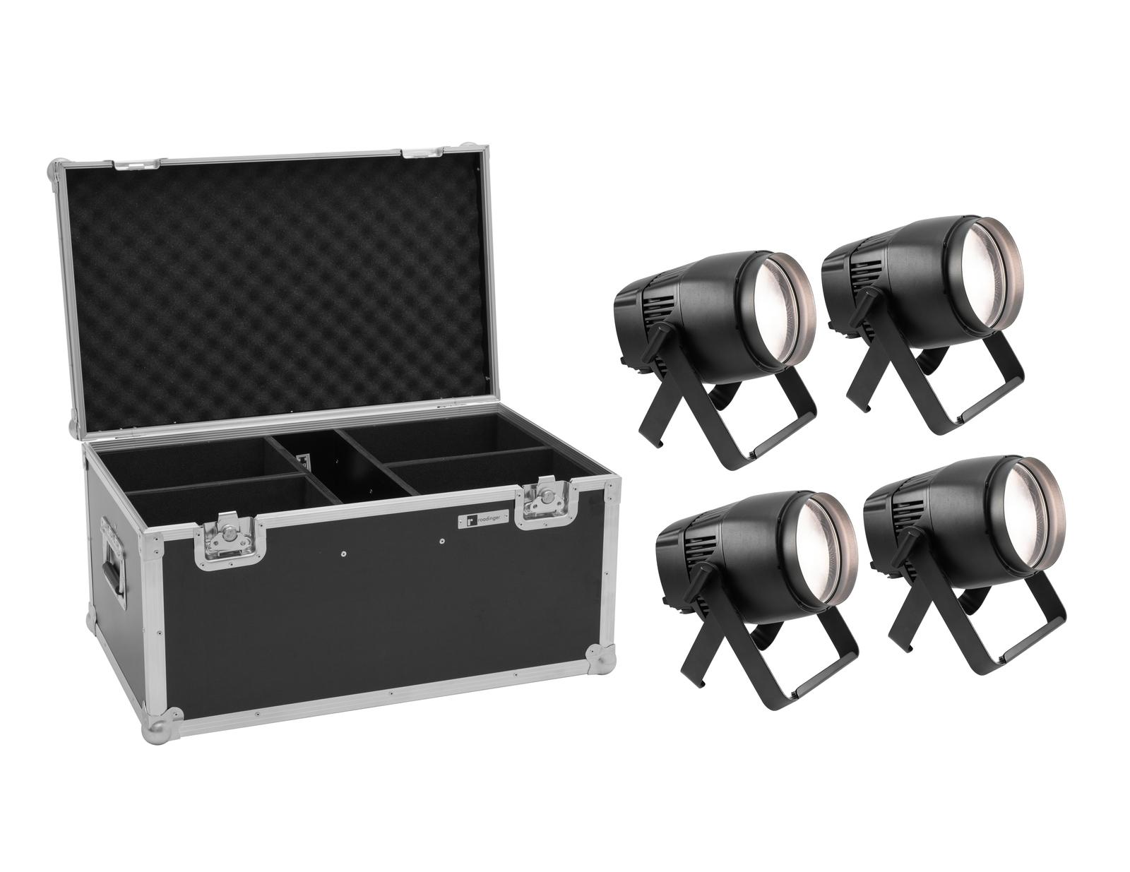 EUROLITE Set 4x LED IP Tourlight 120 WW + Case