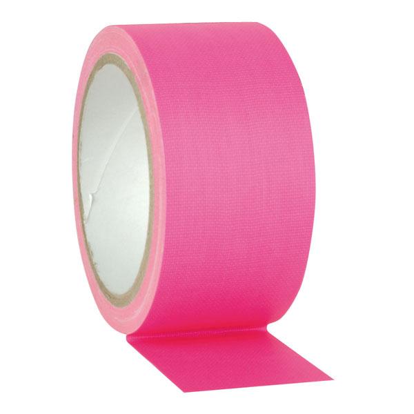 Showgear Gaffa Tape Neon Pink, 50 mm / 25 m