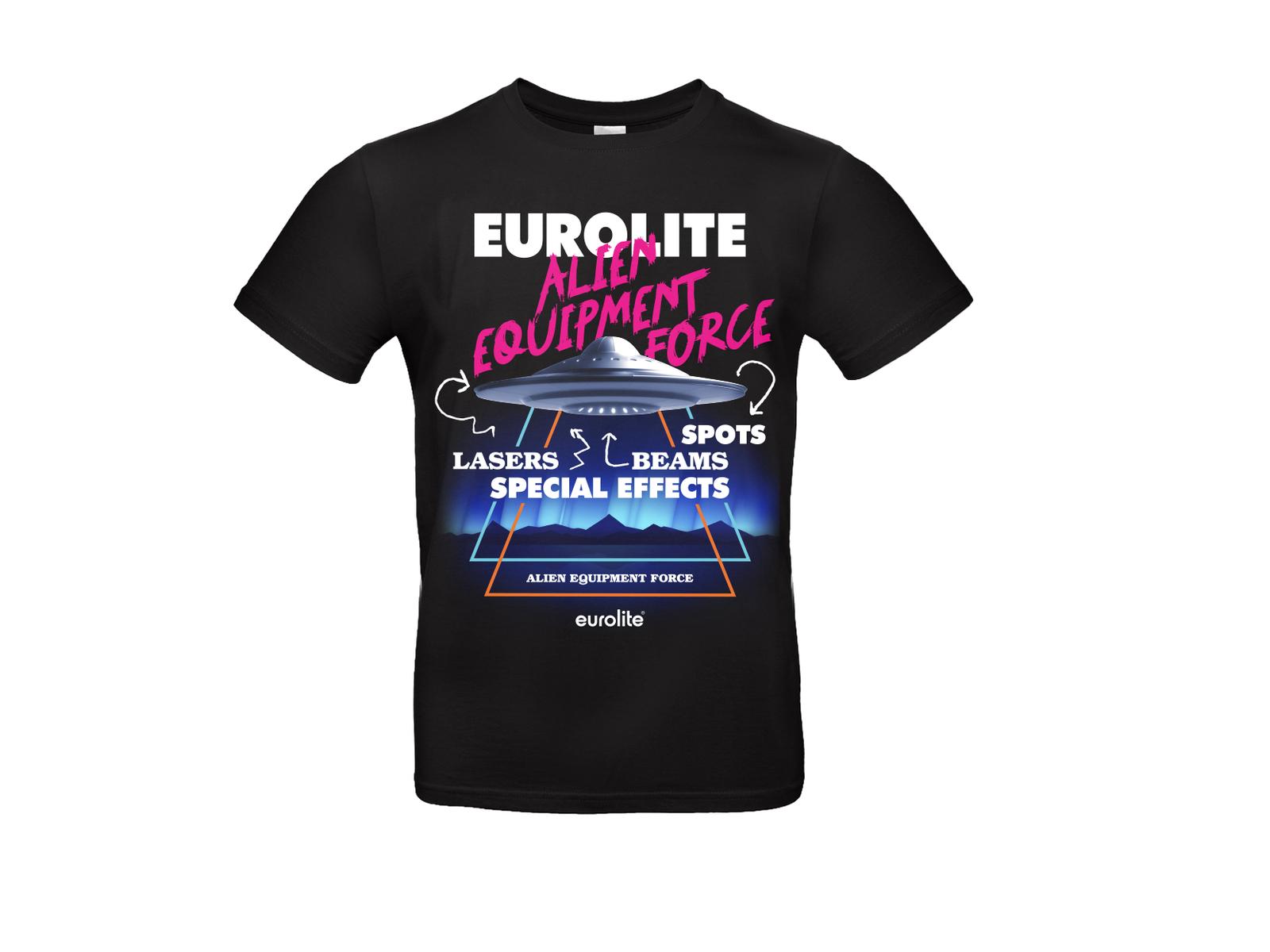 """EUROLITE T-Shirt """"Eurolite neon"""", M"""