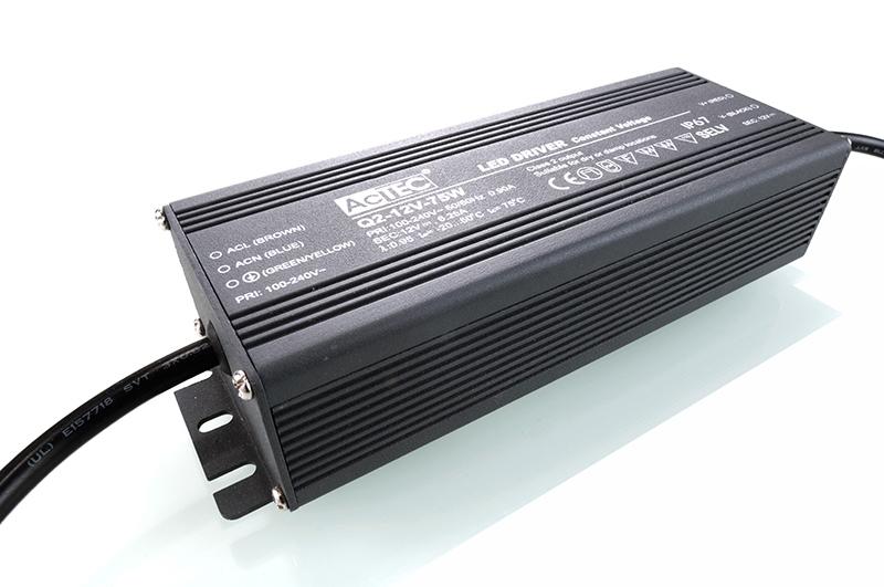 Schaltnetzteil 12V 75W 6,25A IP67 Kapego
