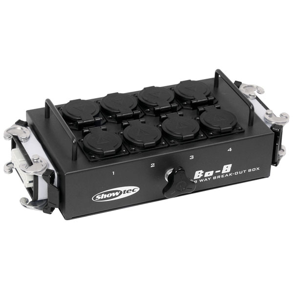 Showgear BO-8-S2 8 Schuko- und 2 x 16-Pin-Anschluss