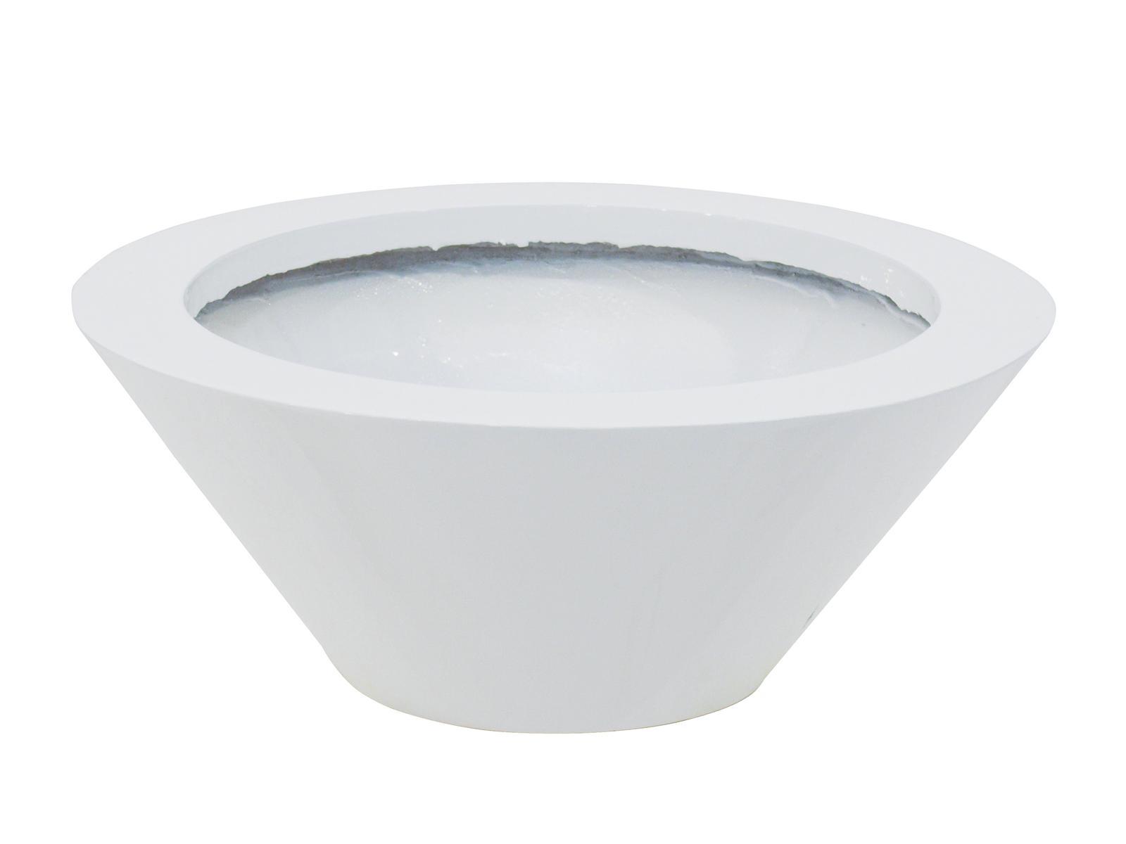 EUROPALMS LEICHTSIN BOWL-15, weiß, glänzend