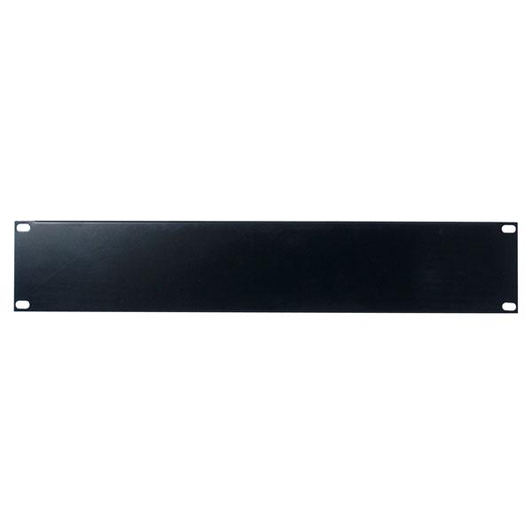 Showgear 19 inch Blind Panel Black 2HE