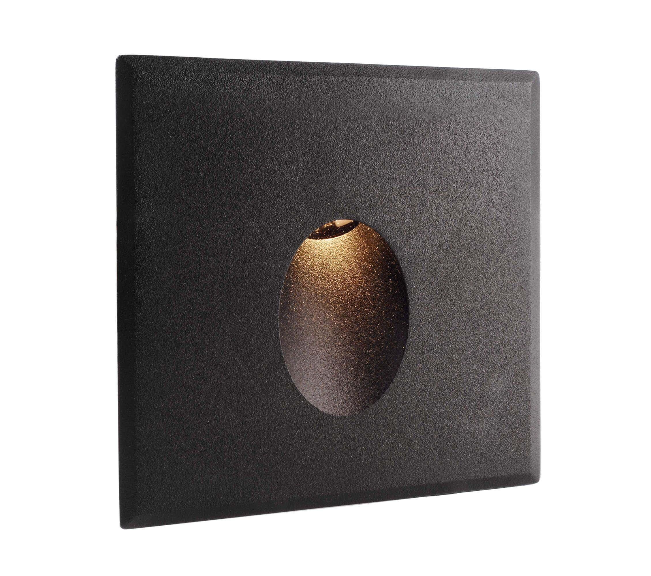 Abdeckung schwarz rund für Light Base COB Indoor (563000)