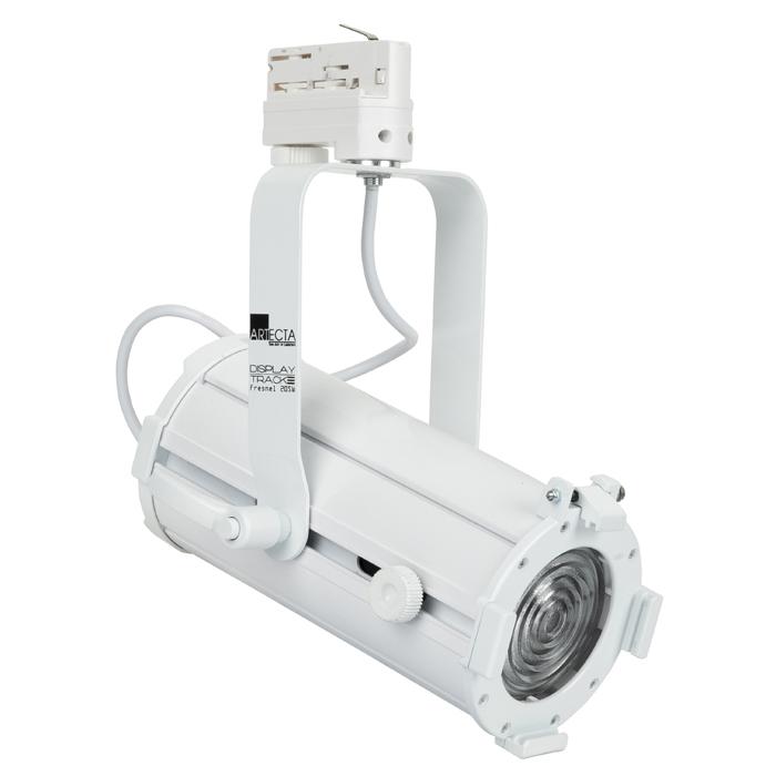 Artecta Display Track Fresnel 20 SW 20 W Schaltbare Weiße LED-Fresnel - Weiß