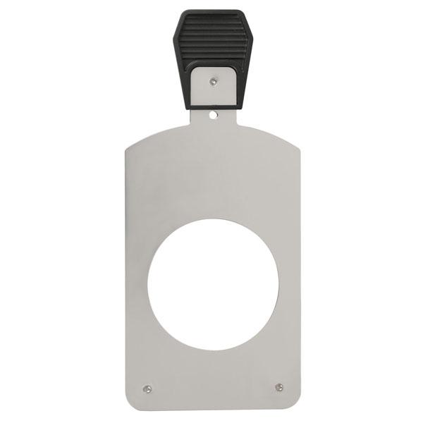 Showtec Glass Gobo Holder for Performer Profile Gobohalter aus Metall für ø 69,9 mm Glasgobos