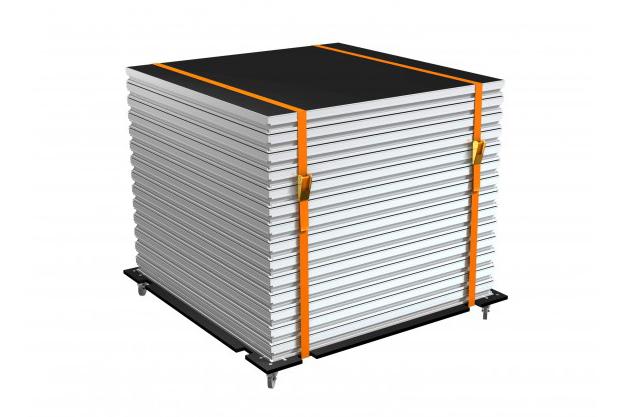 Trolley für 15 Stages SD TEGO PRO 100 x 100cm