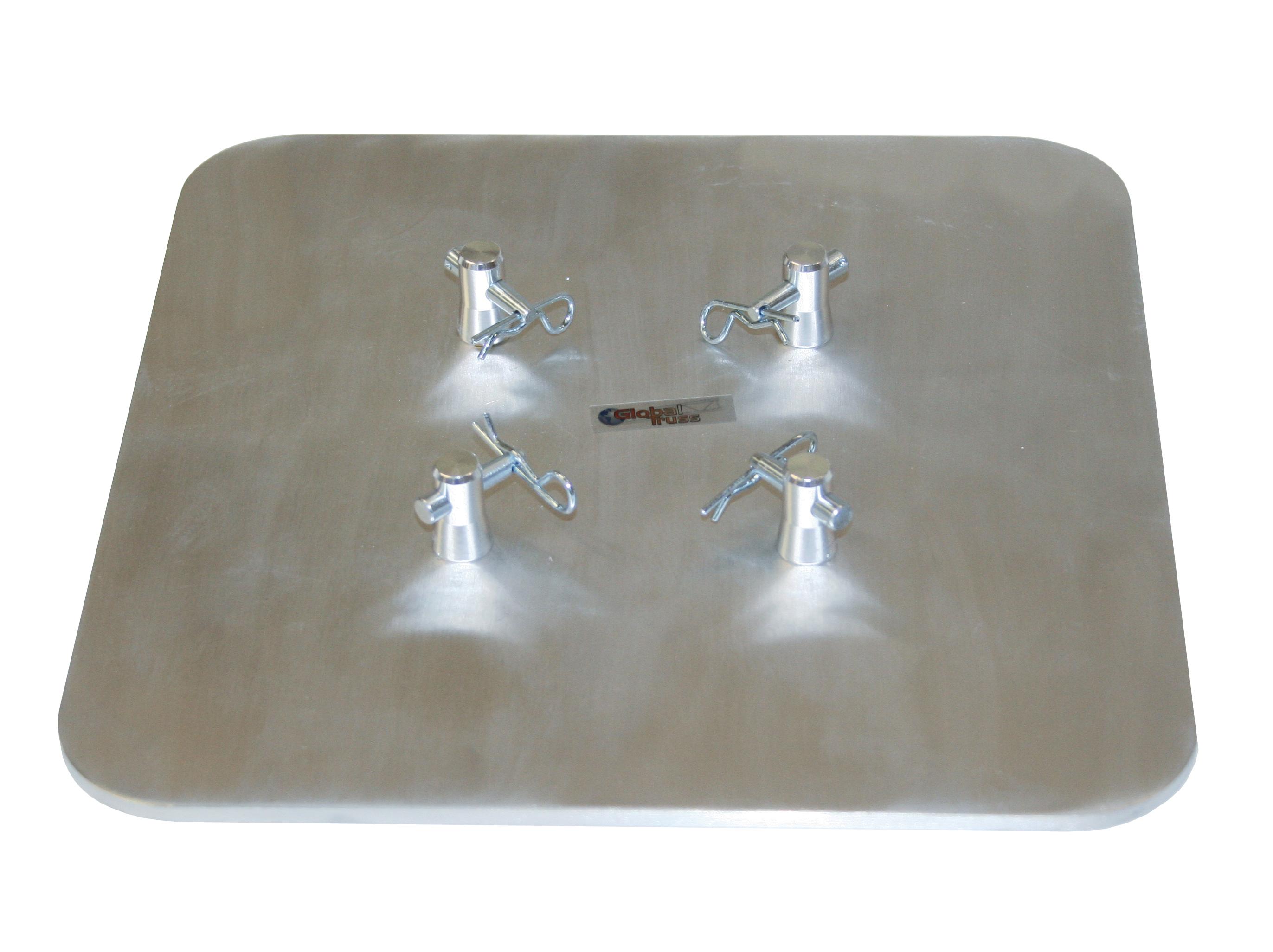 F14 Bodenplatte quadratisch 25cm