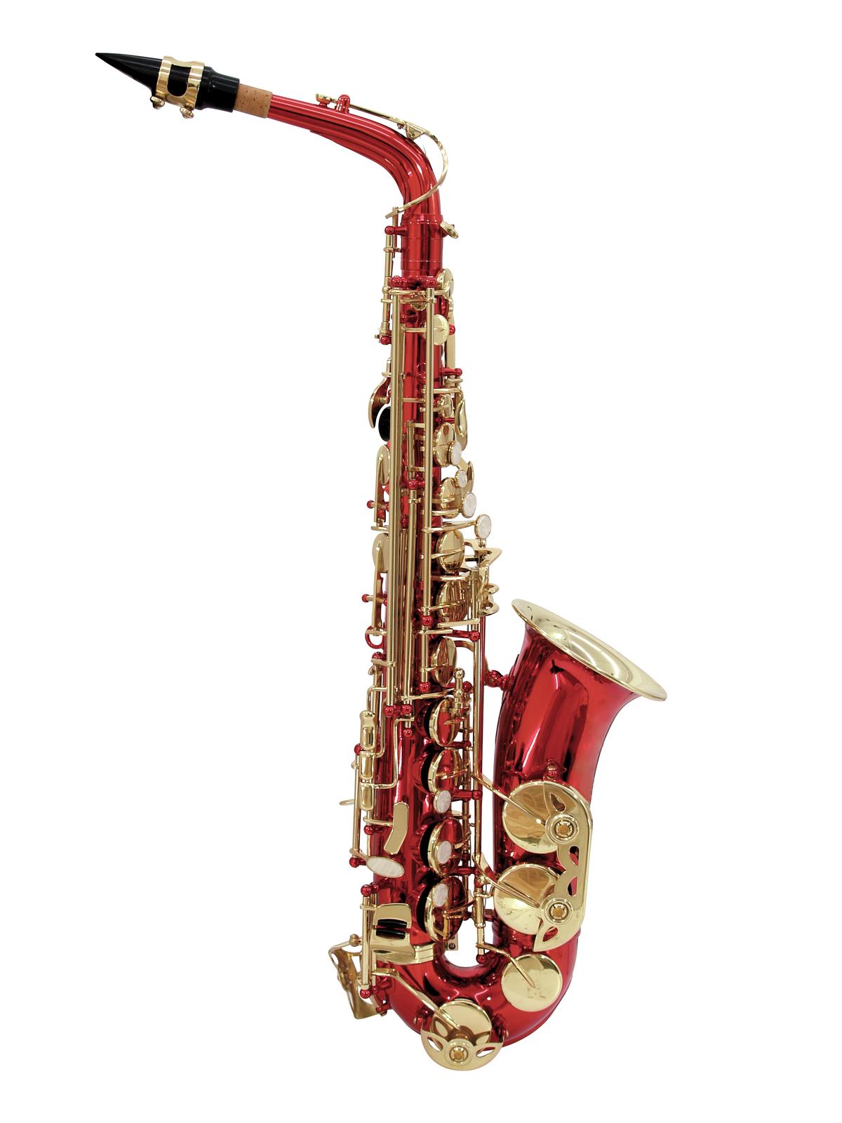 DIMAVERY SP-30 Eb Altsaxophon, rot