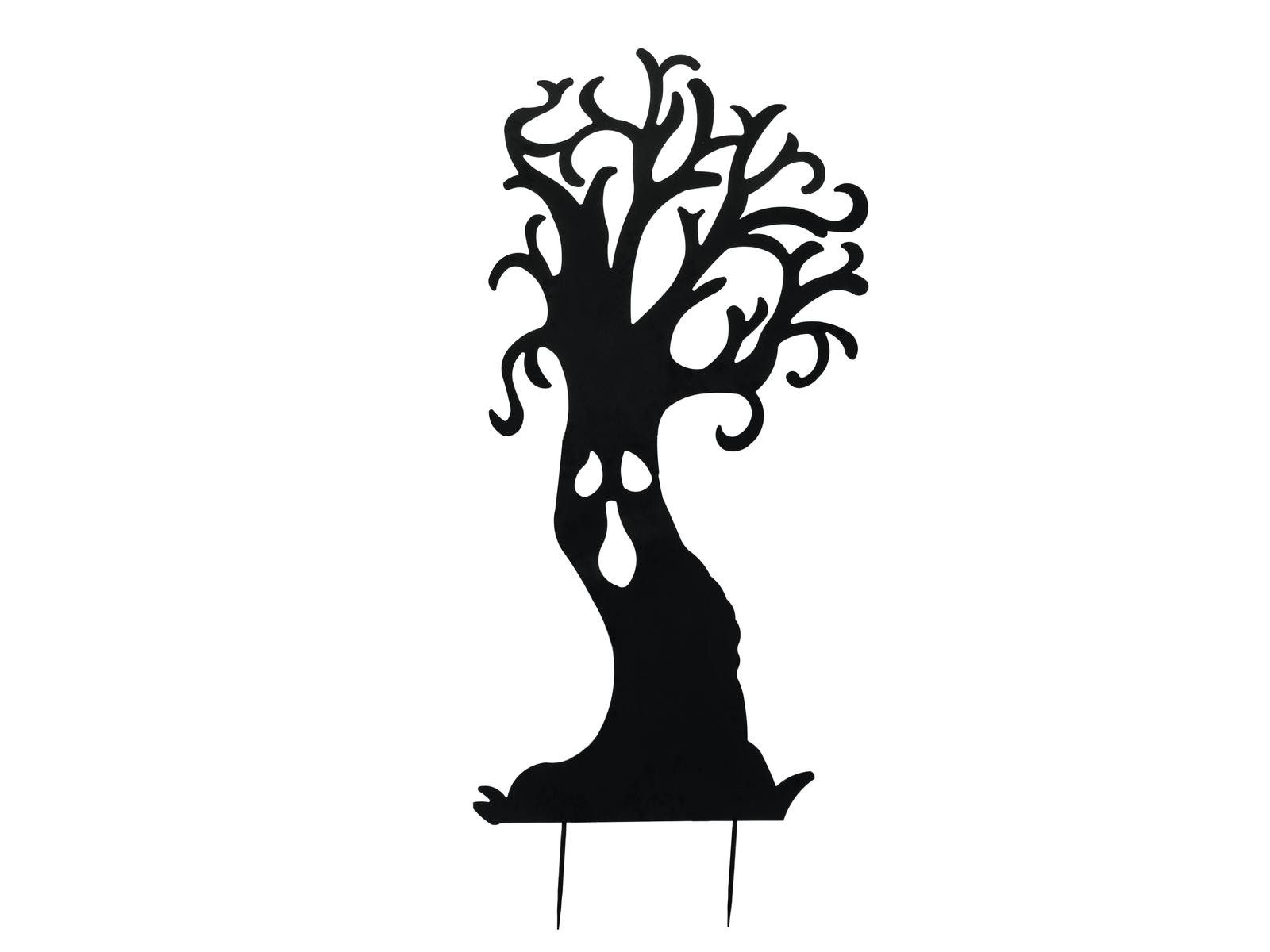 EUROPALMS Silhouette Metall Geisterbaum, 150cm