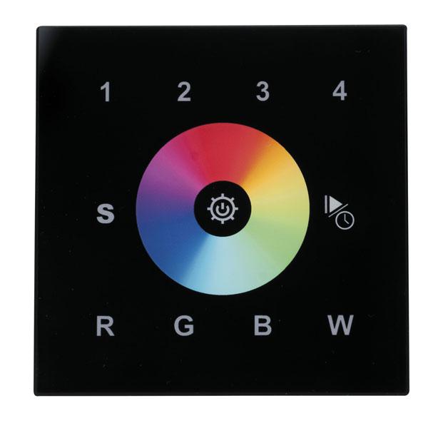 Artecta Play-XV Wall Panel RGBW Wi-Fi-DMX Schwarz, 4 Zonen