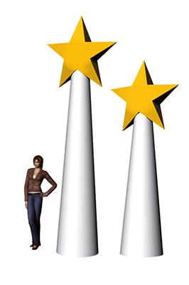 Hülle Star-Cone A2 4,3m gelb