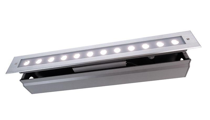 LED Bodeneinbauleuchte Line V CW 16W 230V IP67