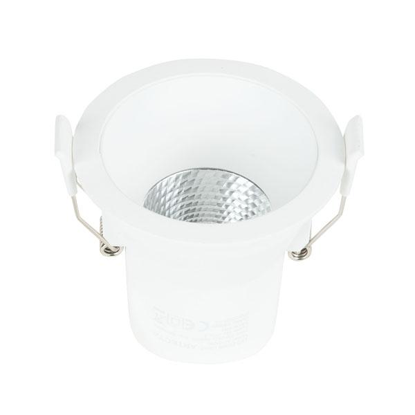 Artecta Malia-68 3000 K - 6 W Dimmbarer LED-Einbaustrahler - weiß