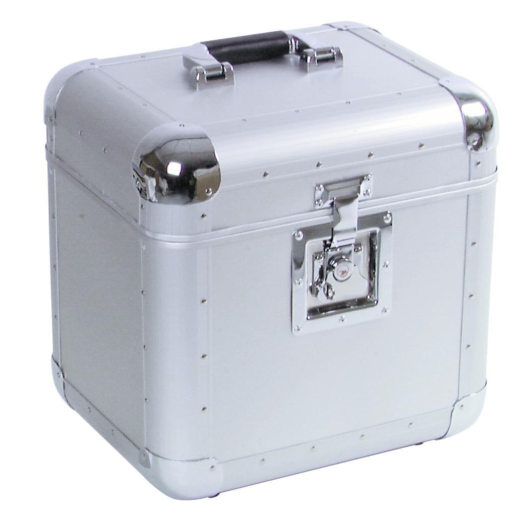 ROADINGER Platten-Case ALU 75/25 abgerundet, sil