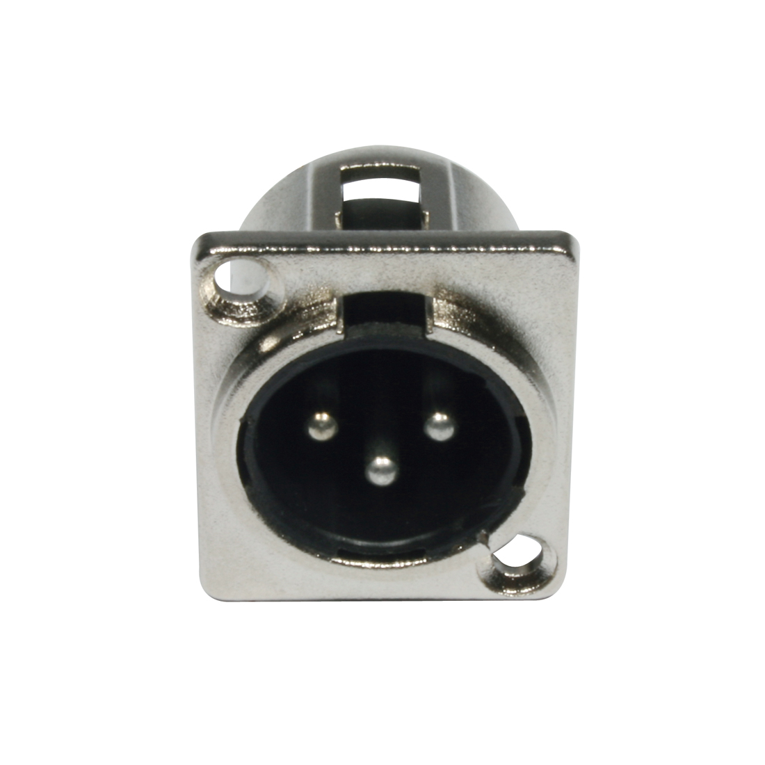Accu Cable AC-C-XM3 XLR 3pin male panel metal