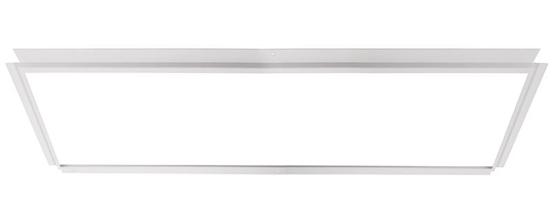 Einlegerahmen für Gips 124x62 weiß