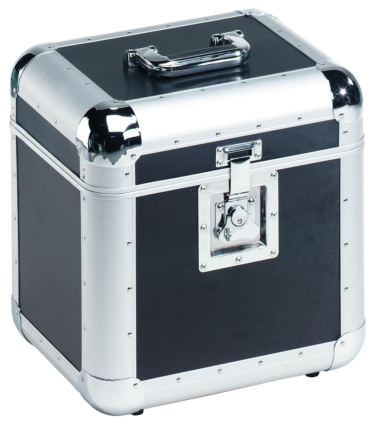 ROADINGER Platten-Case ALU 75/25 abgerundet, sw