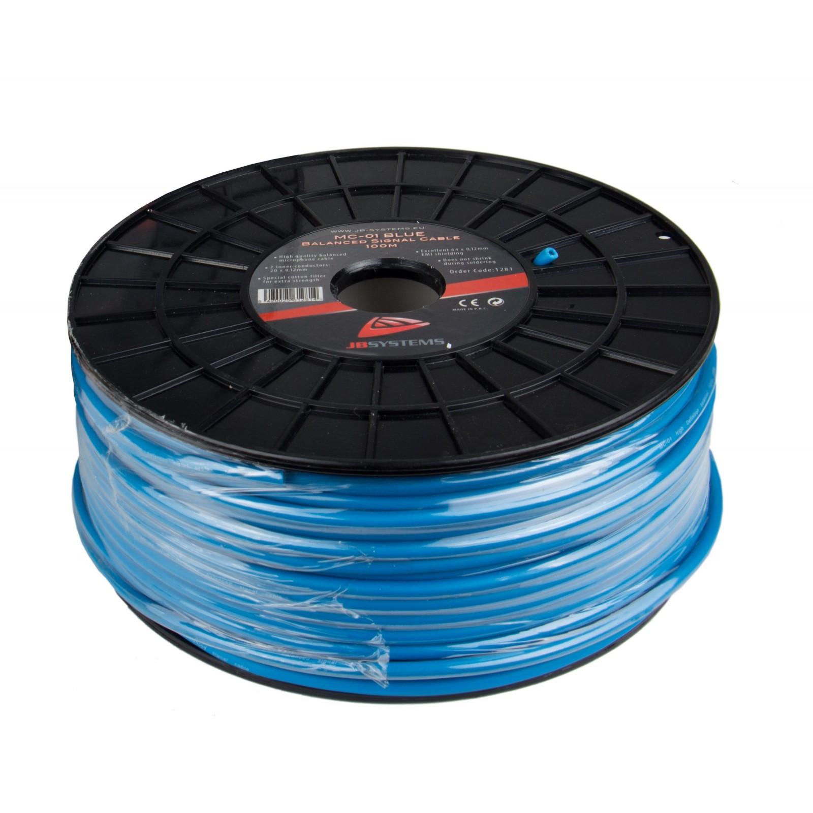 HILEC MC-01 blau Mikrofonleitung