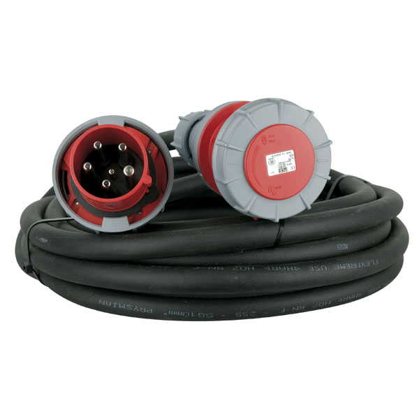Lineax Extension Cable, 3 x 63 A/380 V 5 x 10 mm² 10 m/5 x 10 mm2