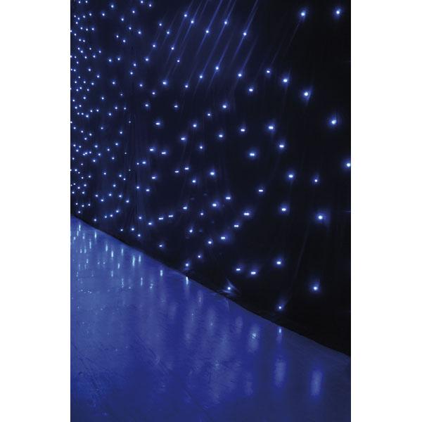 Showtec Star Dream 6 x 3 m - 144 white LEDs - Incl. Controller
