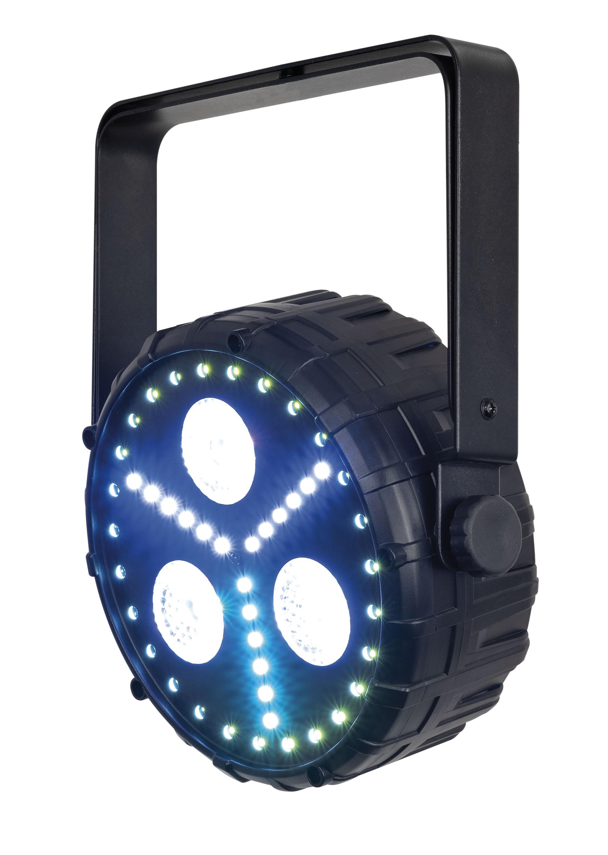Showtec Club Par Dizzy 3/8 3 x 8 W RGBUV LED Par