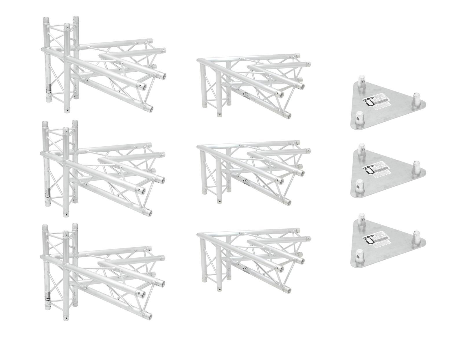 ALUTRUSS Traversenset TRILOCK 6082 Werbetower Basis-Set