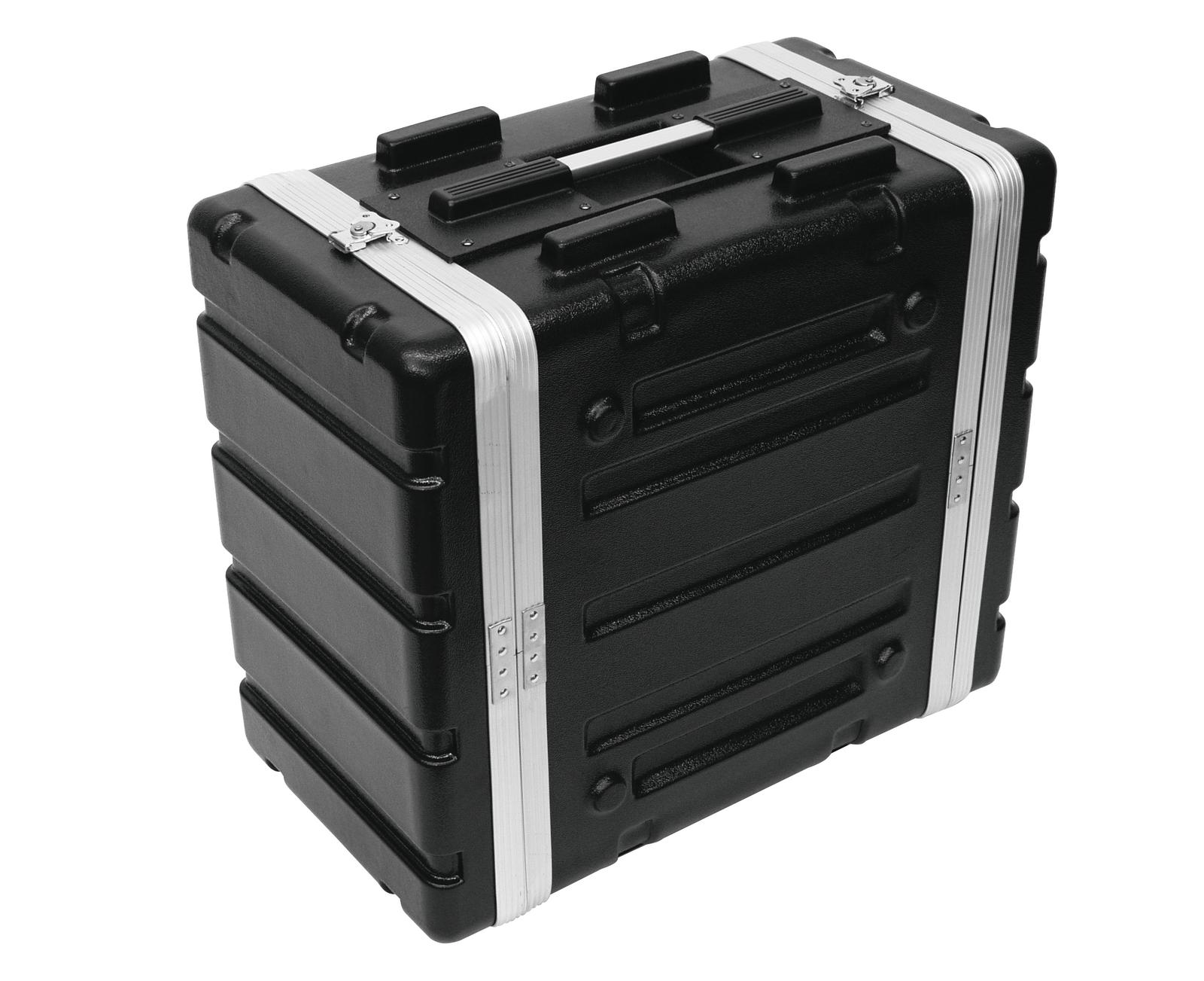 ROADINGER Kunststoff-Rack KR-19, 6HE, DD, schwarz