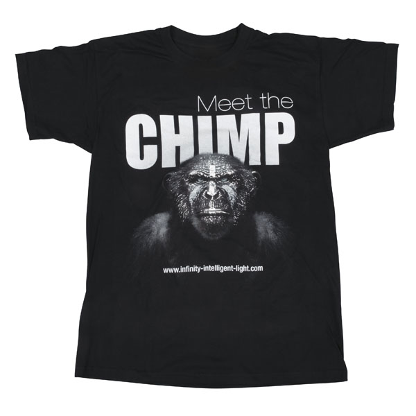 Infinity Chimp T-shirt - Front XS