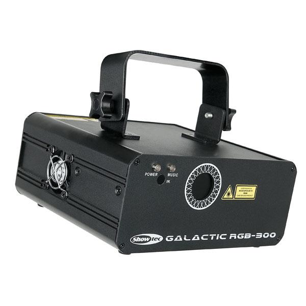 Showtec Galactic RGB-300 Value Line 320W, RGB-Laser mit IR-Fernsteuerung