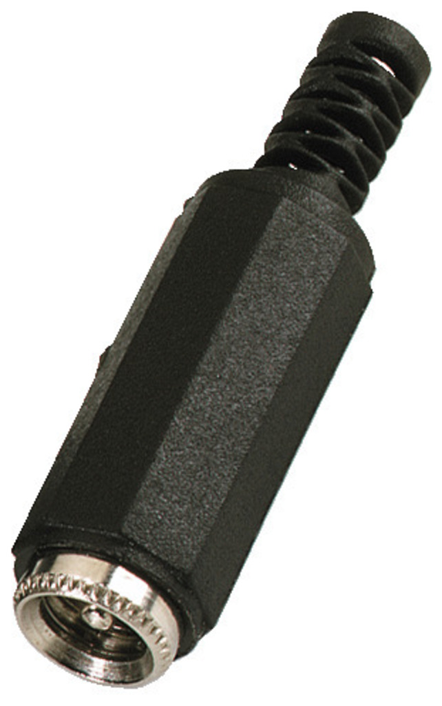 Netzteilkupplung, 5,5/2,1mm