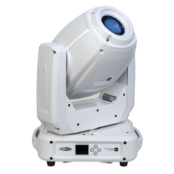 Showtec Phantom 130 Spot 130 W LED Spot Moving Head - Weiß