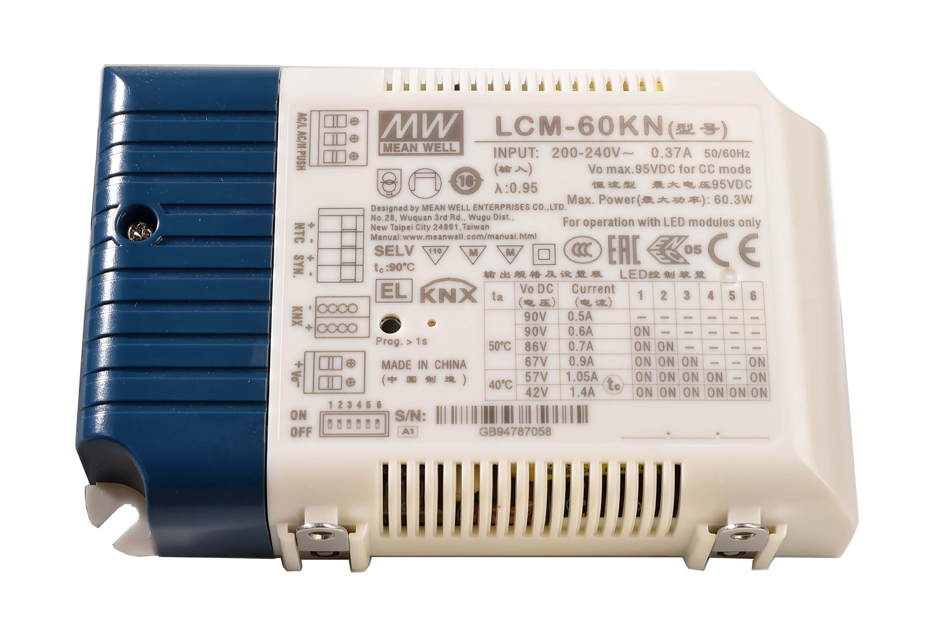 DIM, Multi CC, LCM-60KN - KNX