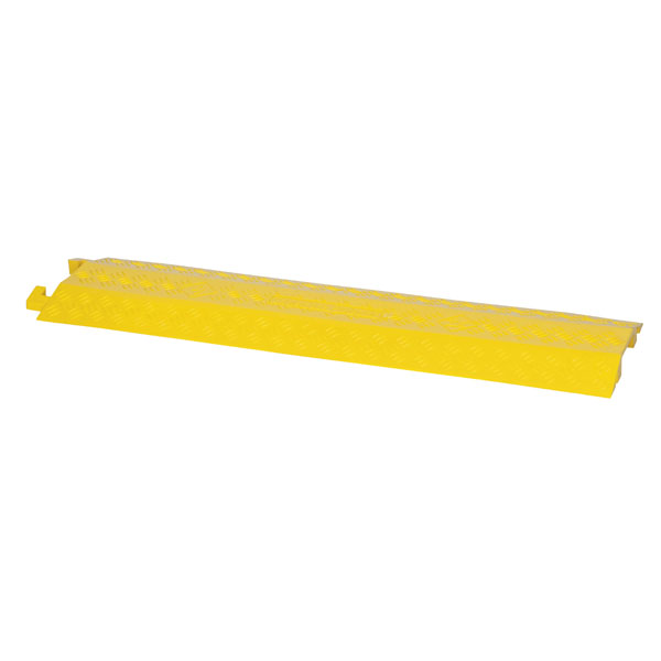 Showgear Cable Cover 4 With 1 Channel, Yellow ABS