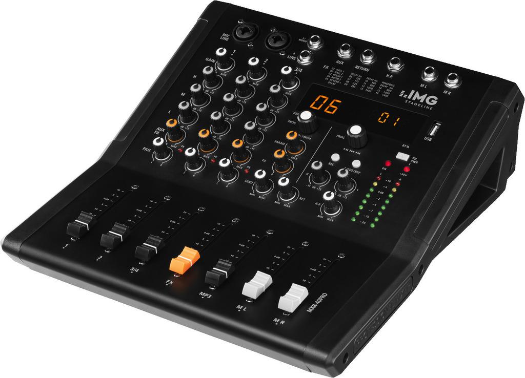 4-Kanal Audio Mischpult